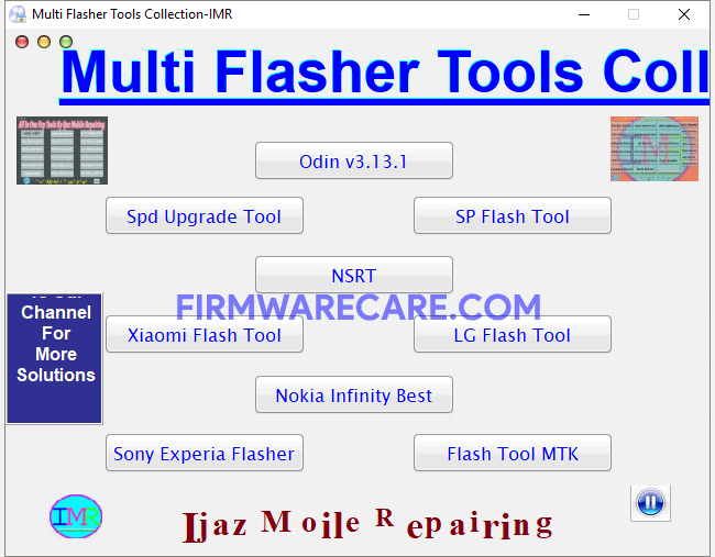 Multi Flasher Tools Collection